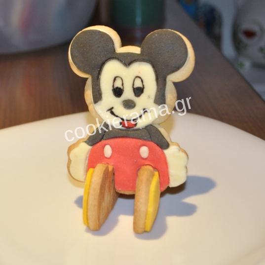 μπισκότο mickey τρισδιάστατο