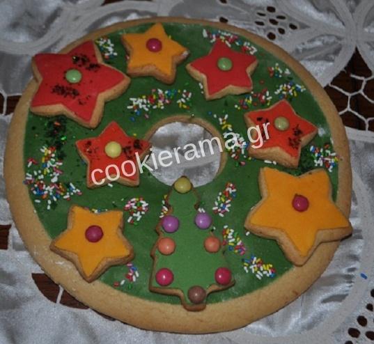 χριστουγεννιάτικο στεφανάκι