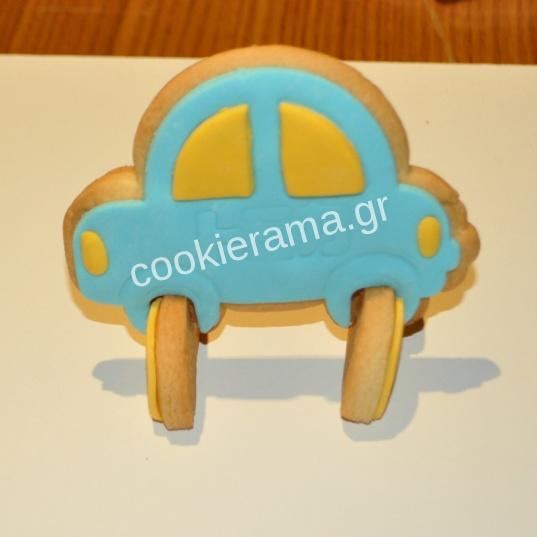 μπισκότο αυτοκίνητο 3d